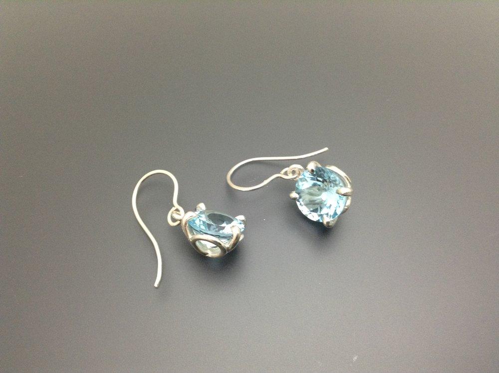 Petal Earrings Blue Topaz.JPG