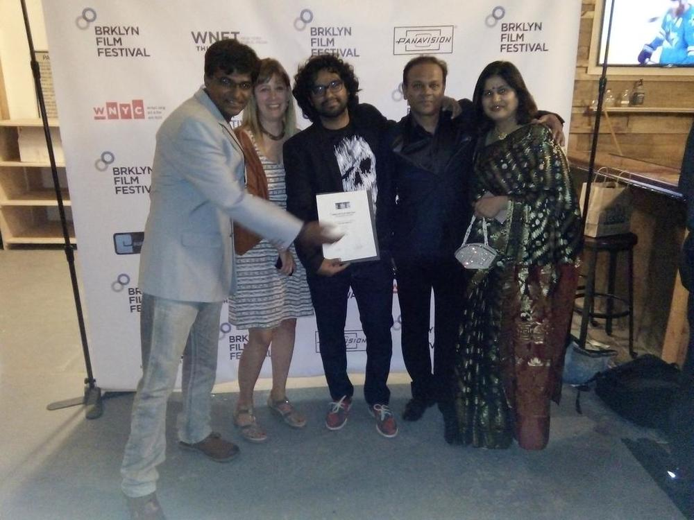 With the winners of the Indie Spirit Award for Narrative Feature - the team behind the Indian horror/suspence film Lapacchapi (Hide N Seek)