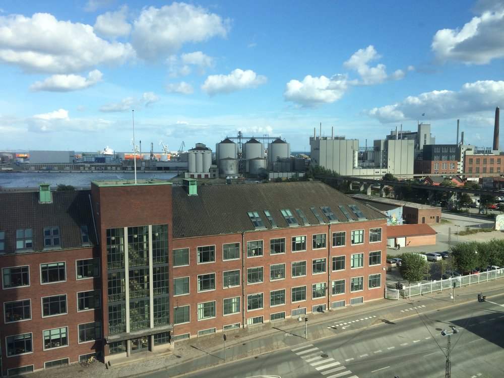 Plan for the South Harbour District, Aarhus -