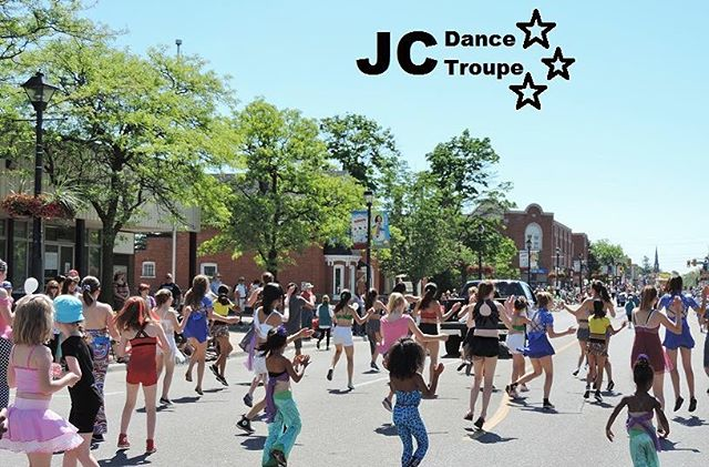 | Finally that time of the year again! | JCDT is ready to dance through the streets! #breadandhoney #parade #crew #dancers