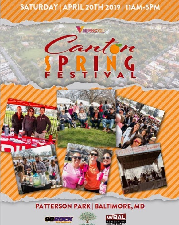 Come hang! We'll be at #CantonSpringFest tomorrow from 11am-5pm. Stop by and enjoy food, drinks, live music, 100+ local vendors, and a kids zone for the babes 👌🏼