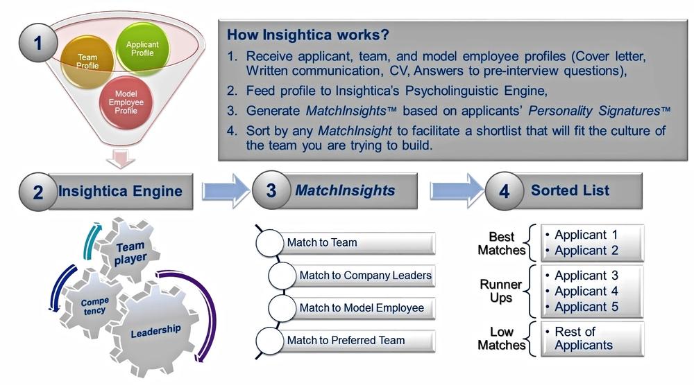 Insightica process flow