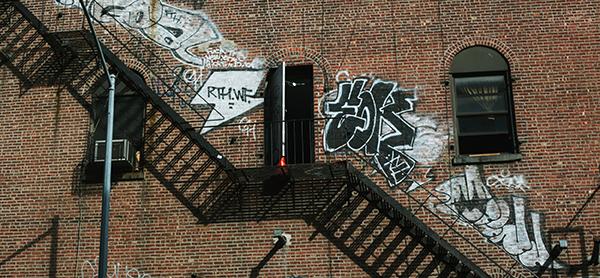 Graffiti therapy in Williamsburg, Brooklyn