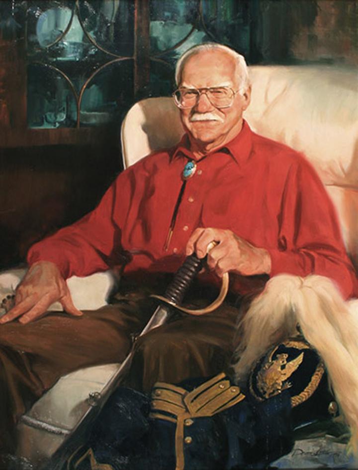 "Ed V. , 24"" x 32"", oil on canvas"