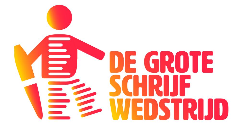 De grote schrijfwedstrijd - logo