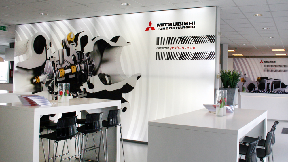 Mitsubishi-Turbocharger-exhibition-stand