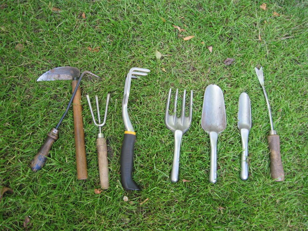 Weeding tool aresenal