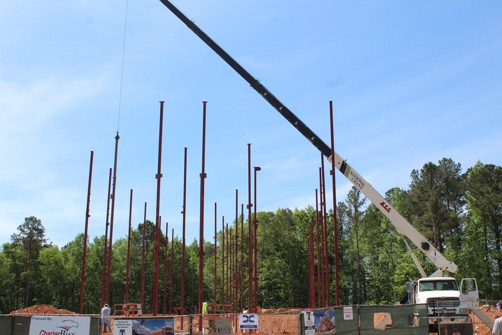 48Ft Steel Columns2.JPG