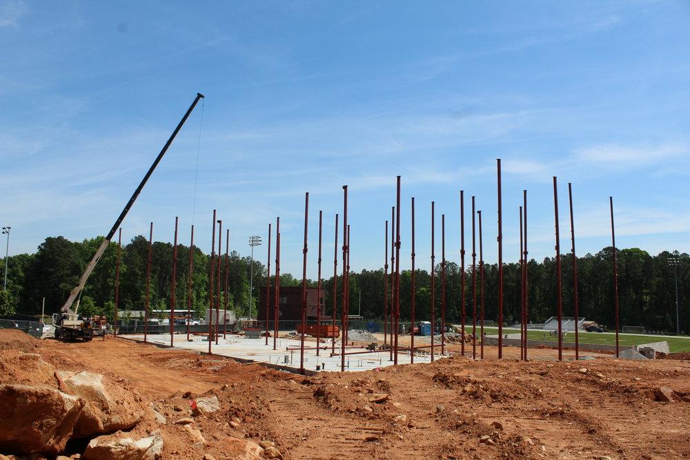 48Ft Steel Columns1.JPG
