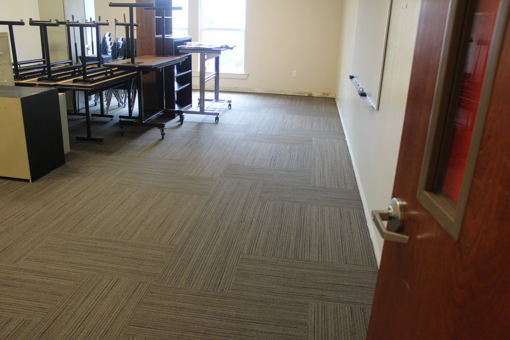 ... and new carpet in the some of the Elementary and Middle School classrooms.