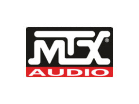 MTX Car Audio subwoofer and stereo system brands.