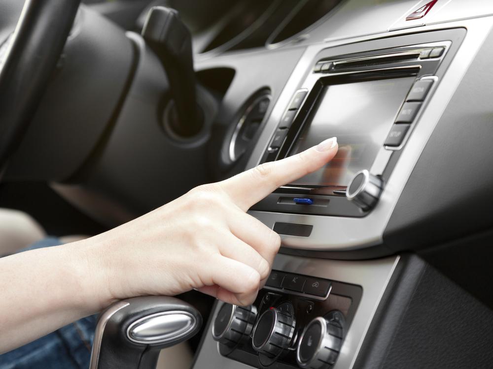 Car Stereo City GPS navigation system installation.