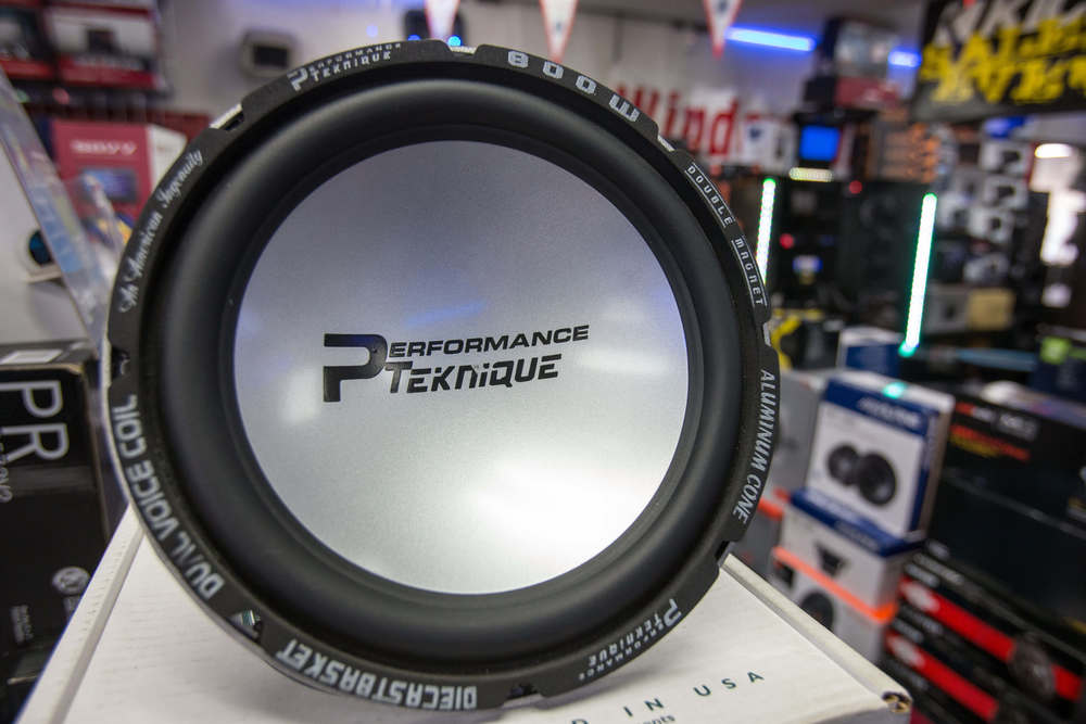 Performance Teknique Speakers at Car Stereo City