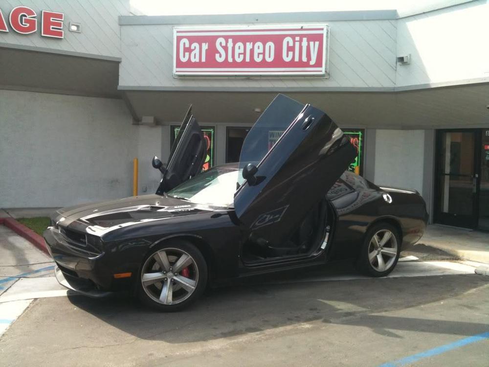 Car Stereo City lambo door installation