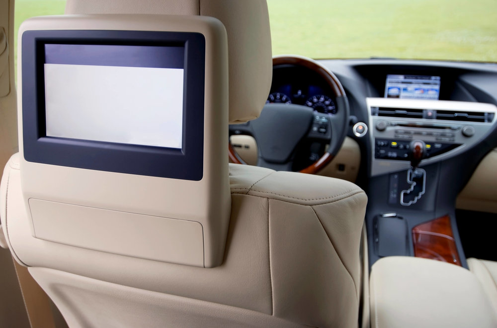 Car Stereo City in San Diego offers expert installation of headrest car video players. Watch TV in your car with a car TV monitor and screen.