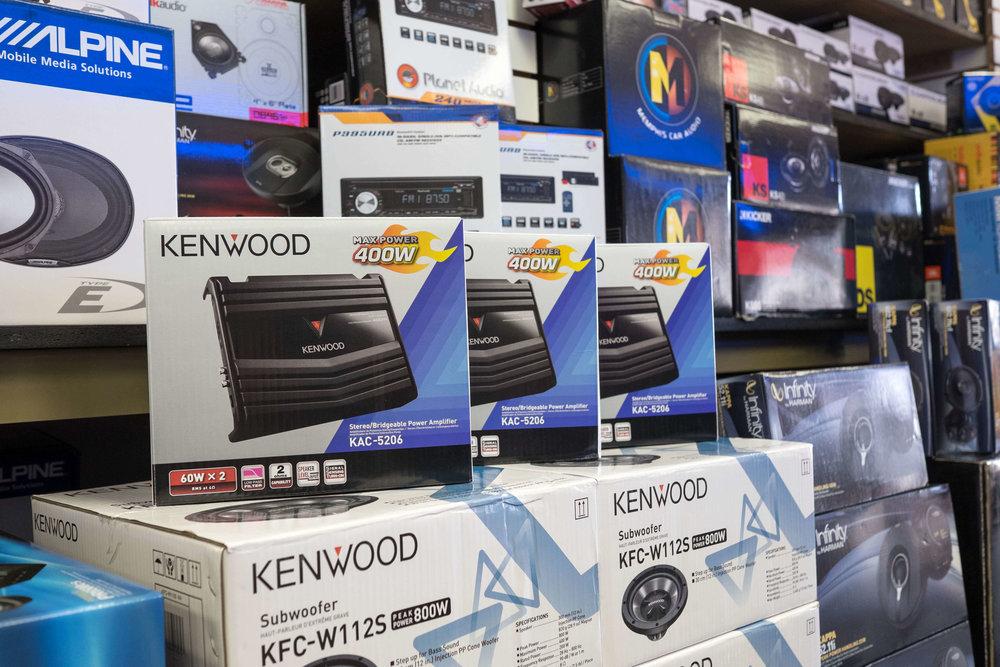 Kenwood Amplifiers, Speakers & Subwoofers