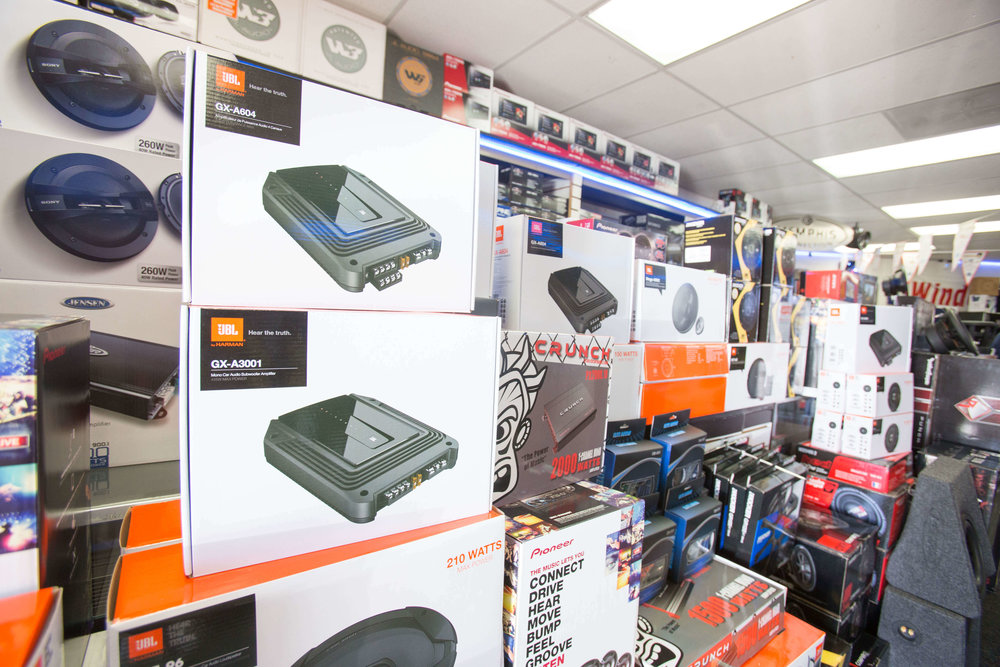 UBL & other great car audio brands at Car Stereo City