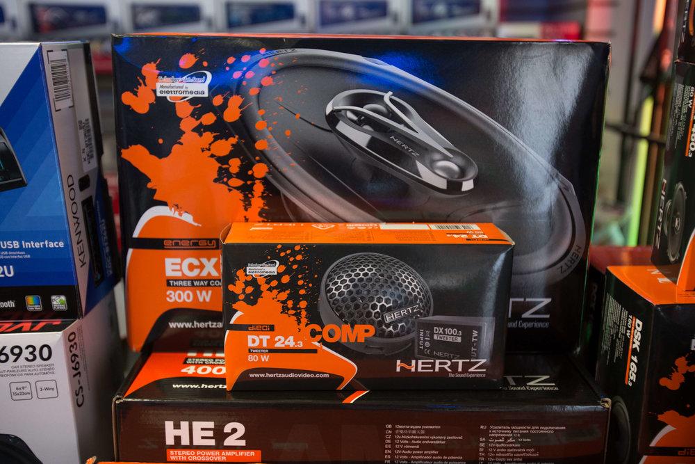 Hertz Stereo System Installation