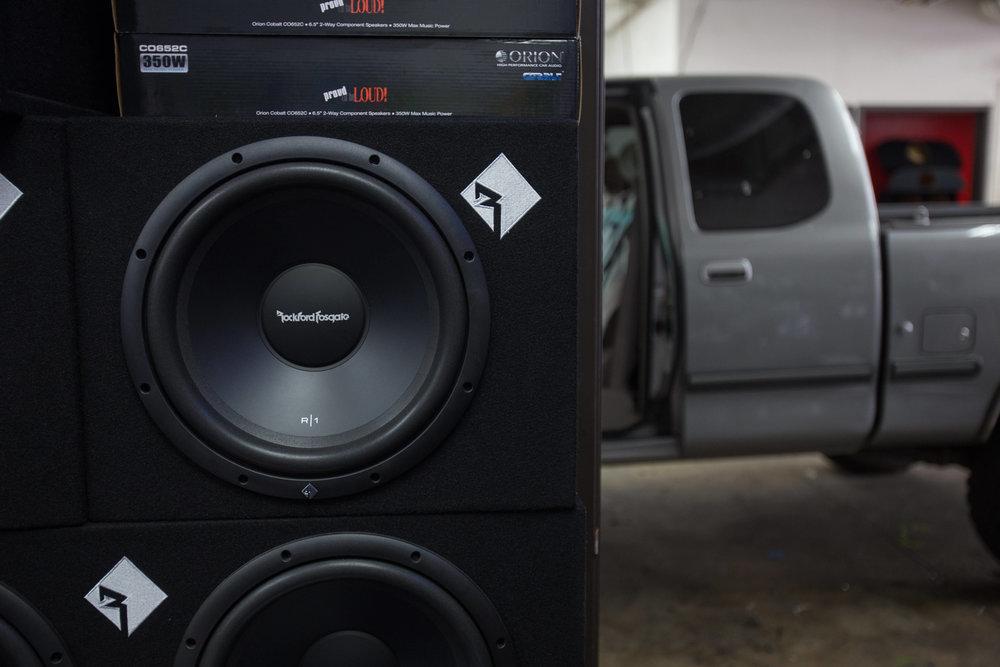 Rockford Fosgate Speakers Installed in San Diego