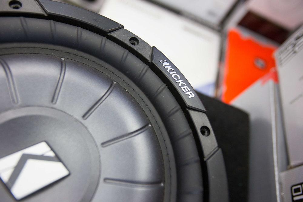 Kicker Car Audio Installation in San Diego