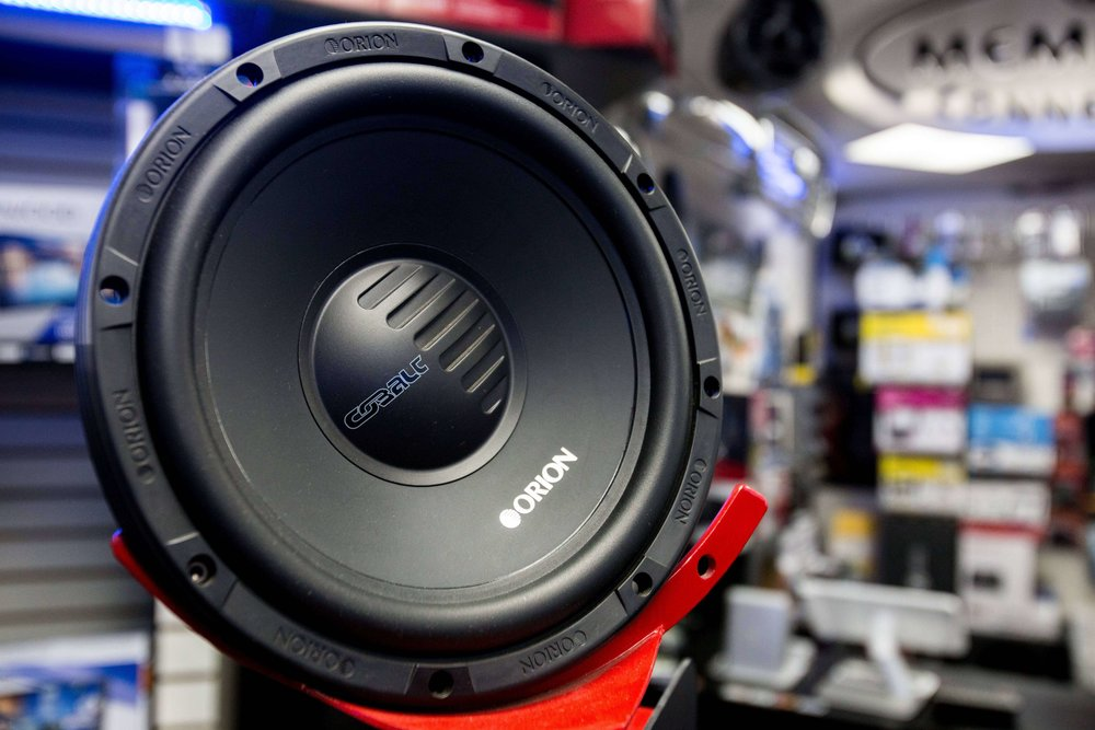Orion Speakers at Car Stereo City