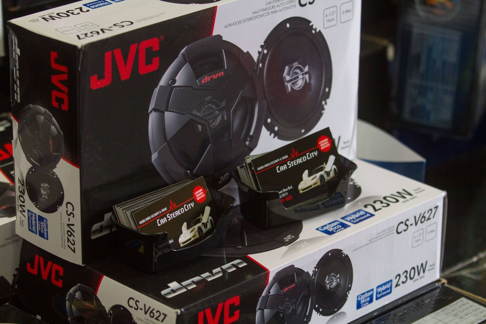 JVC Car Speakers Systems at Car Stereo City