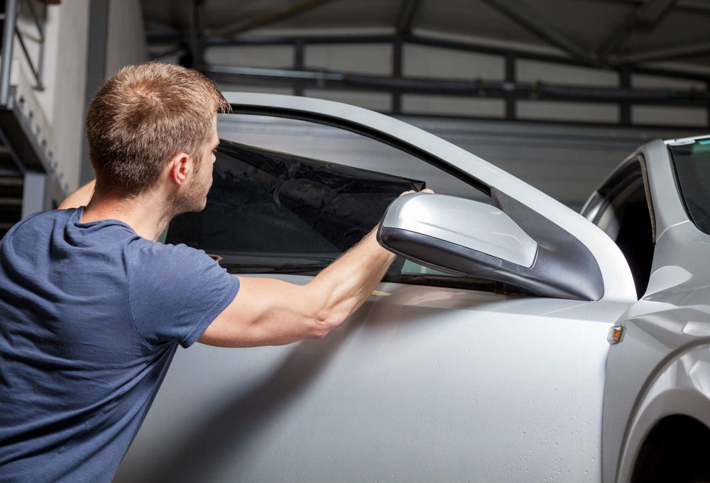 Car Window Tinting Service and tinted windows in San Diego.