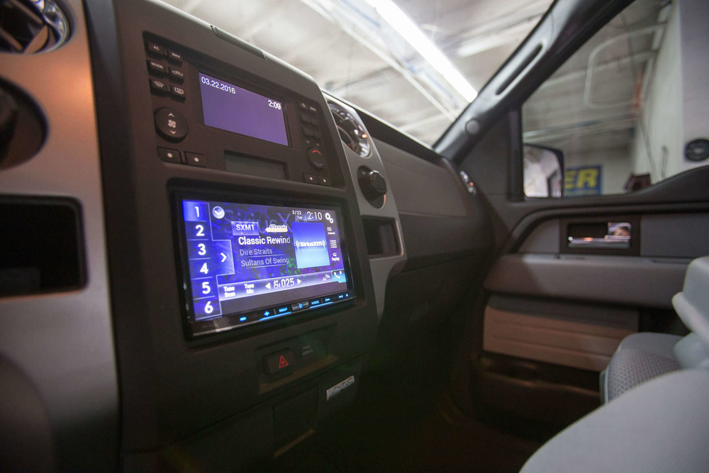 Bluetooth stereo system San Diego music installation.
