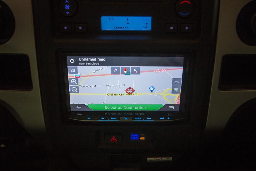 San Diego Car GPS Navigation system installation.