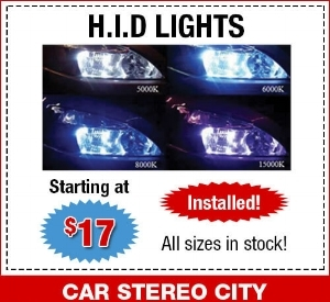 HID car headlights special San Diego