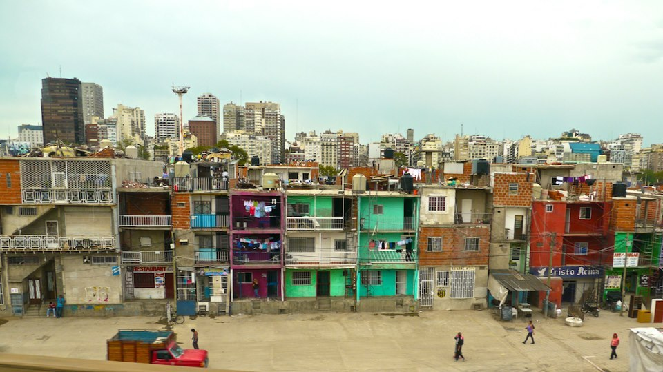 The villas around Buenos Aires, near the school in Le Tigre where the Roadmonkey team will do their volunteer project.