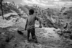 Congolese mine workers