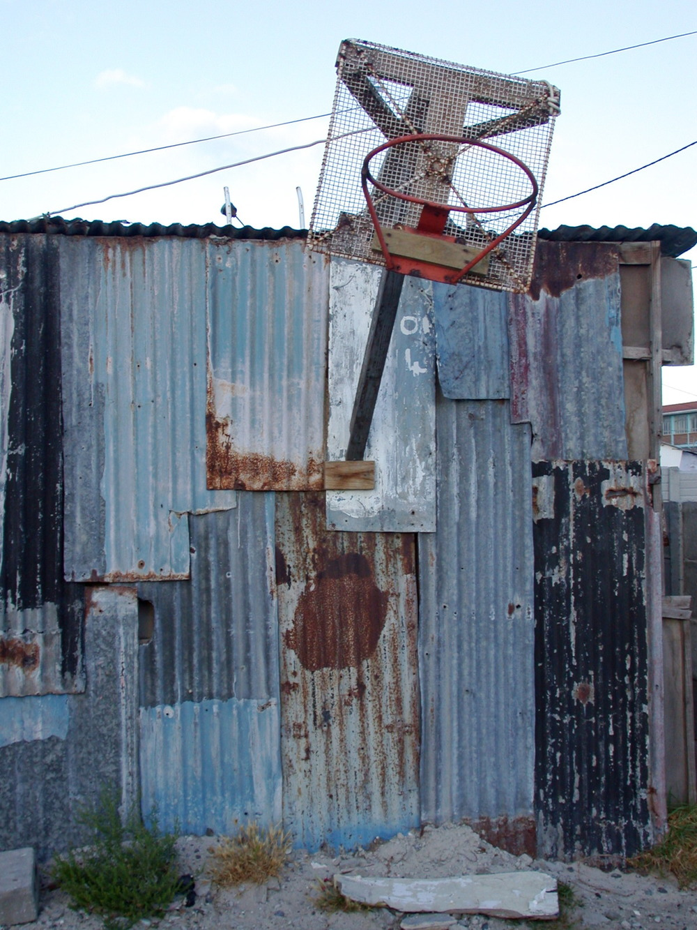 For the love of the game, but no dunking please! Khayelitsha, South Africa