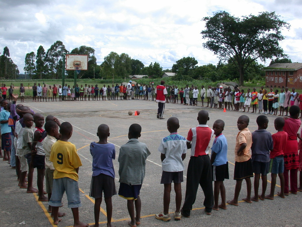 Keeping enough balls bouncing is one of H4H's biggest challenges in Zimbabwe.