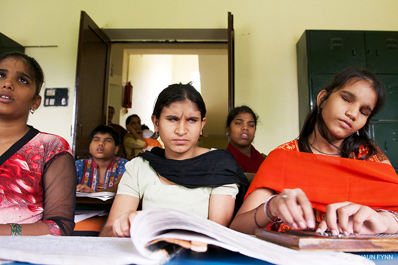 Classroom, girls school