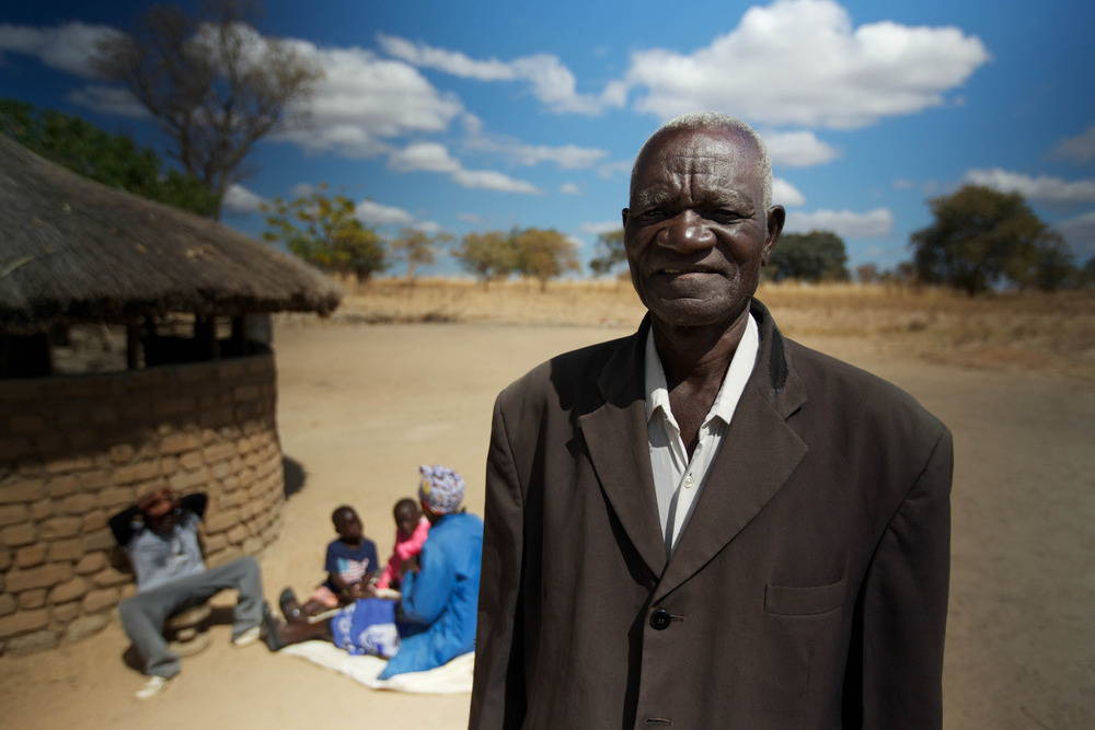 Rural Zambia.