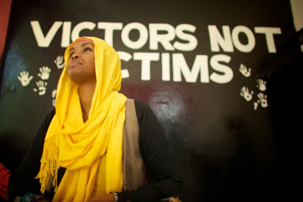 Victors not victims.