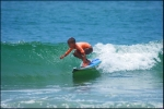 Remish surfing, very talented grom