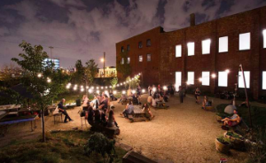 The venue: Pioneer Works Center for the Arts in Red Hook, Brooklyn