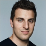 Brian Chesky, the founder of Airbnb.