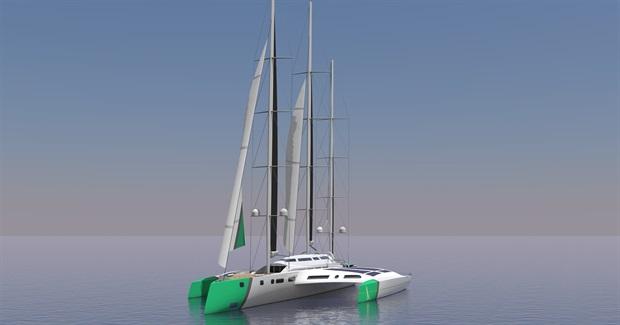 A design of the 110 meter long ocean-going vessel of change