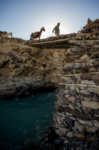 One of the only bridges we crossed during our traverse. Horses and yaks are the only possible forms of transport here.