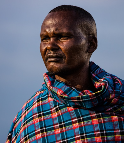 "Mark Ole Njapit, who also known as ""Pilot,"" is a respected elder in the Masaai community of Ngerende."