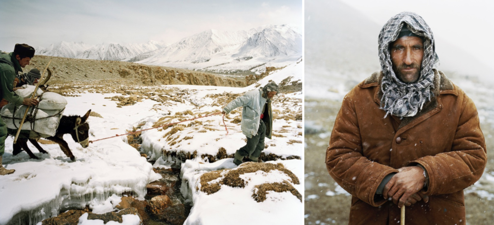Traversing the frozen landscapes of the Wakhan // Burch Mirzo, a local farmer and the leader of our expedition.