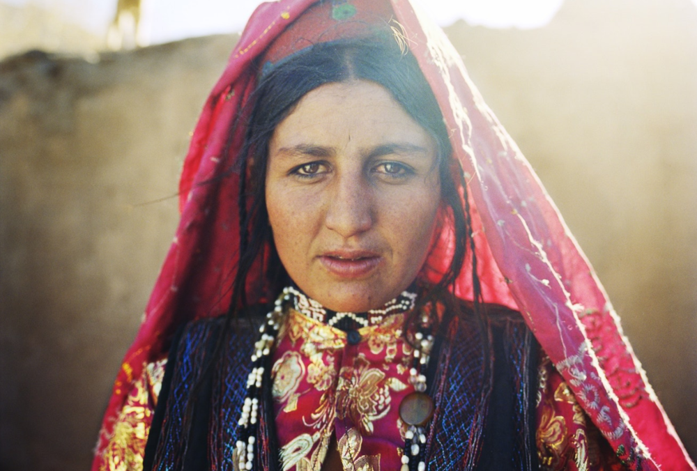 A Wakhi woman living in the village of Tshehel Kand, Wakhan.