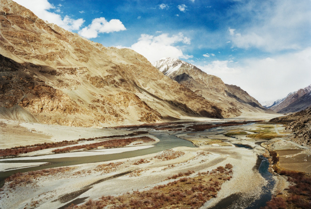 A view of the Panj river and the Wakhan Corridor, looking back the direction we had come.