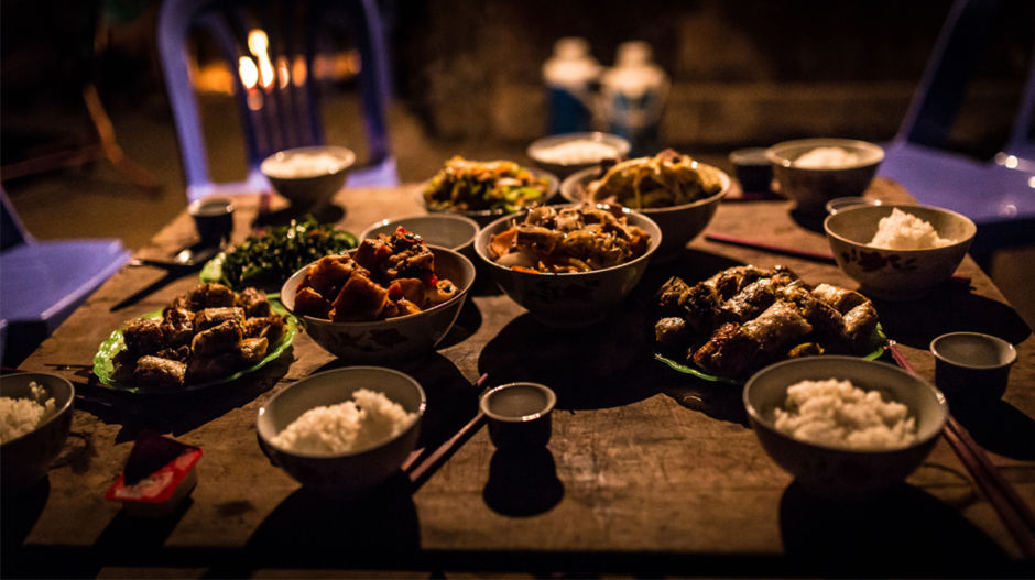 One of the highlights in staying in a traditional homestay is the incredibly delicious food served at dinner. Sharing an authentic meal with a local family in their home is an amazing experience for any traveler.