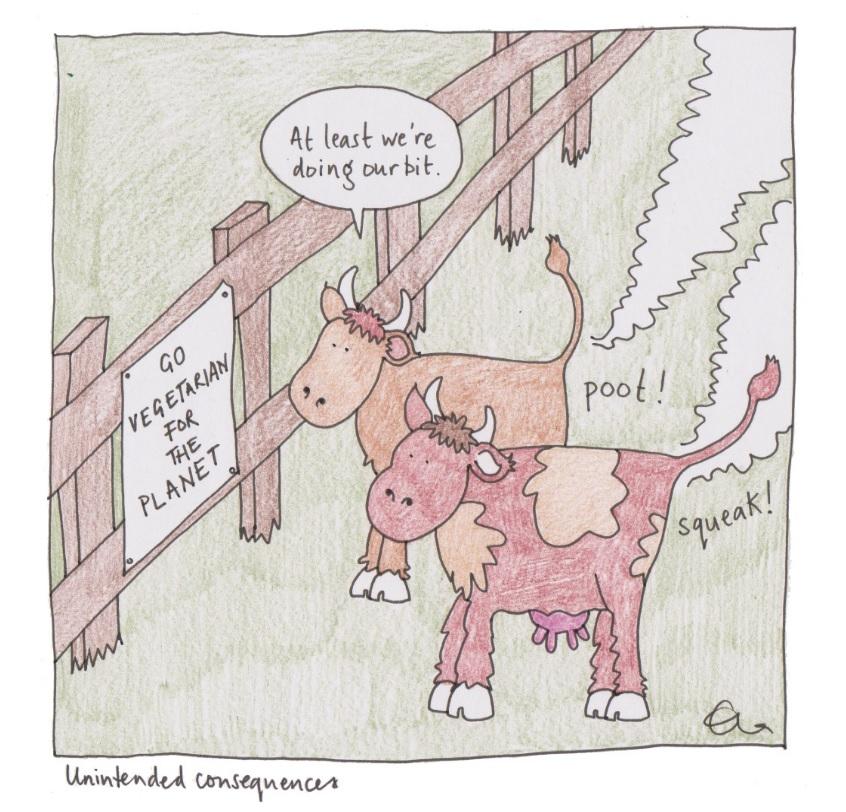 Cartoon by Ella Furness