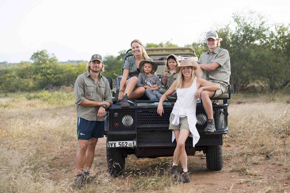 Mark, Sophie and their family of little legends | Photo by Kirstin Scholtz @kirstinscholtz