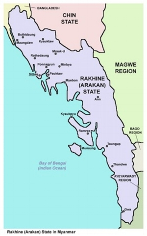 Both India and China have interests in Myanmar.PANONIAN/Wikimedia,CC BY